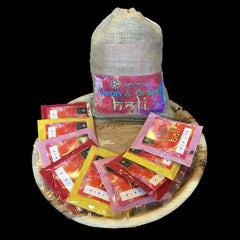 Multipack 3 Natural Holi Colours 500gm Red yellow & pink