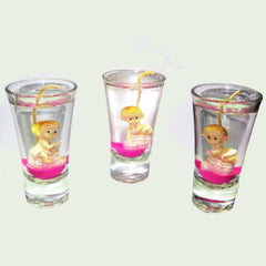 Shot Glass Candles