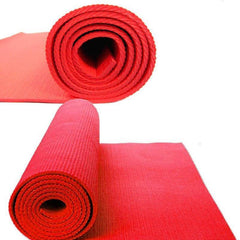 Yoga Mat for exercise and meditation (Red)