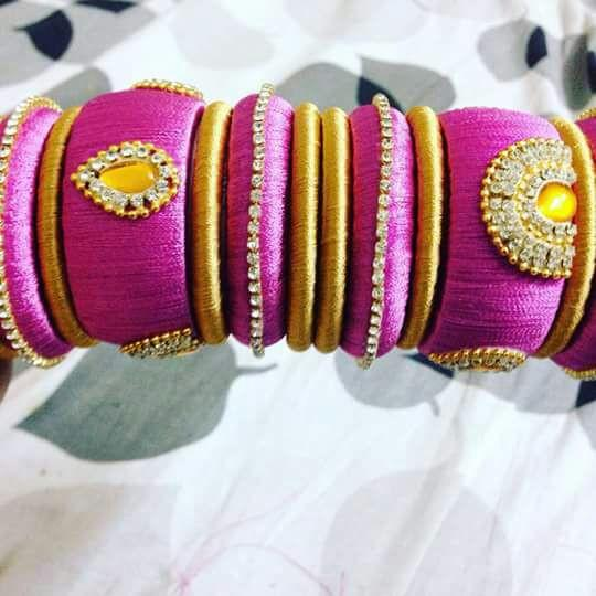 Designer Handmade thread Bangle