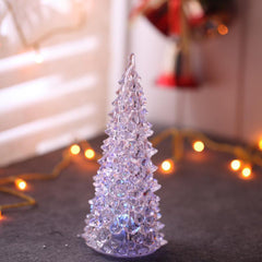Acrylic LED chritmas tree 7 inches