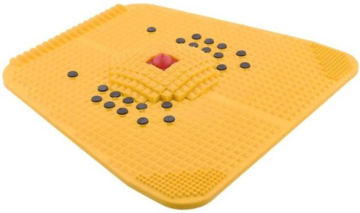 ACUPRESSURE HEALTH CARE SYSTEMS Ahcs-55 Acupressure Mat 2000 For Pain Relief Massager  (Yellow)