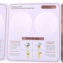 ACUPRESSURE HEALTH CARE SYSTEMS Ahcs-150 Acupressure Magnetic Ball Set Of 2 Massager  (Gold)
