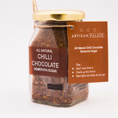 Artisan Palate Natural Chilli Chocolate Demerara Sugar