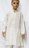 cotton linen kurta with cotton pyjama