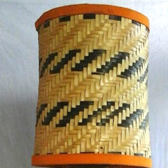 Bamboo Table Lamp 25""