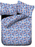 Lali Prints Classic Designer Print 100% Cotton 1 Single Bedsheet With 2 Pillow Covers