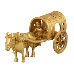 BRASS SINGLE BELL CART WITH TUMB