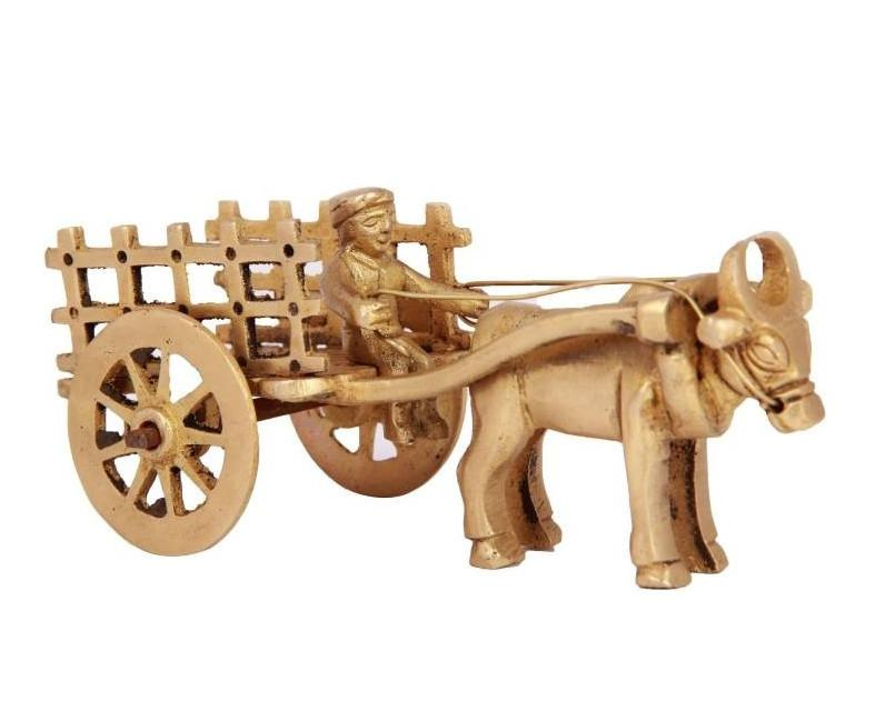 BRASS SINGLE BELL CART WITHOUT TUMB