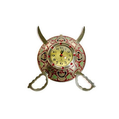 BRASS KNIFE WALL CLOCK