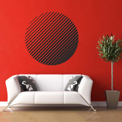 Circle Pattern Wall Decal (Medium)
