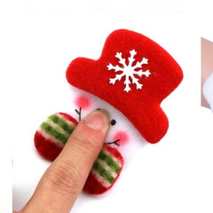 Christmas Assorted Santa, Reindeer & Snowman Party Accesories set- Headband ,Chest Badge & Wrist band