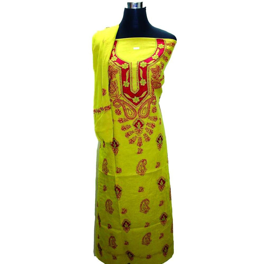 .Suit with Kurti & Dupatta only
