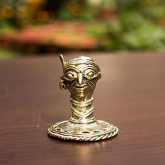 Paper Weight Tribal Face