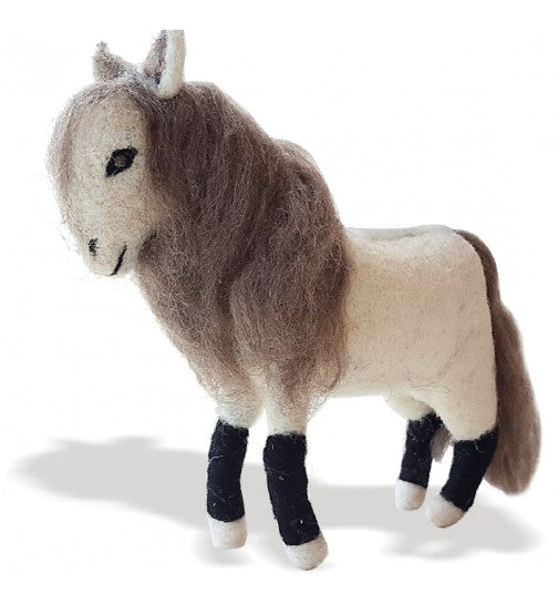 NEEDLE FELTED HORSE TOY