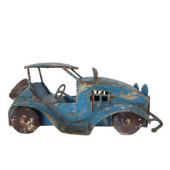 VINTAGE CAR MINIATURE (BLUE)