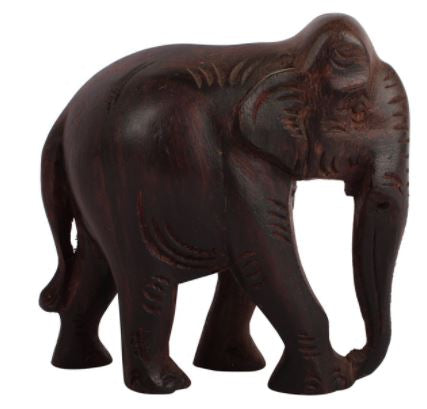 WOOD ROSE WOOD ELEPHANT SHOWPIECE 3
