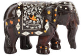 WOOD ROSE WOOD ELEPHANT SHOWPIECE 2