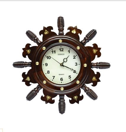 ROSE WOOD BIG WALL CLOCK