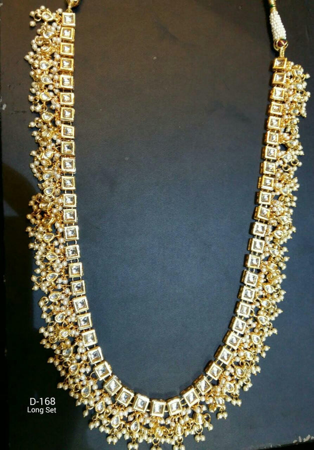 Gold Plated Kundan Nekclace