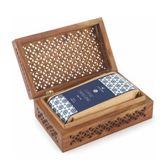 Octavius Classic Darjeeling Whole leaf Black Tea in Cutwork Wooden Gift Box