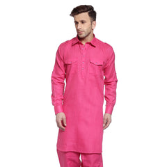 Pink Casual Pathani