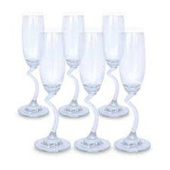 Home kitchen wine glass ocean pack of 6, 165 Ml
