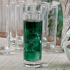 Tableware Serving Glasses water Juice Glass Pack of 6 Pcs (340 ML)