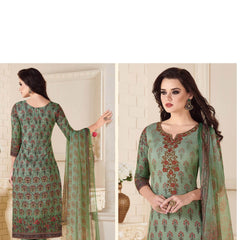 Indian Women Designer Party wear Light Green  Anarkali Salwar Kameez