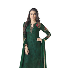 Indian Women Designer Party wear Deep Green Anarkali Salwar Kameez