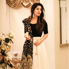 New Latest Black Awesome Lahenga Choli