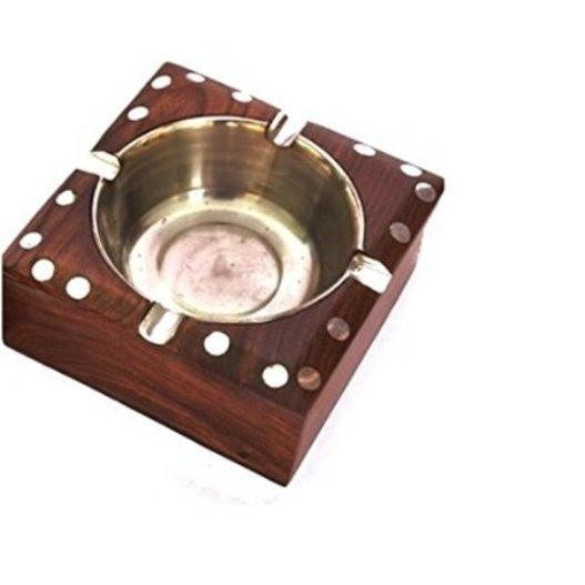 Desi Karigar Wooden Premium Quality Antique Ashtray