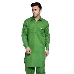 Green Casual Pathani