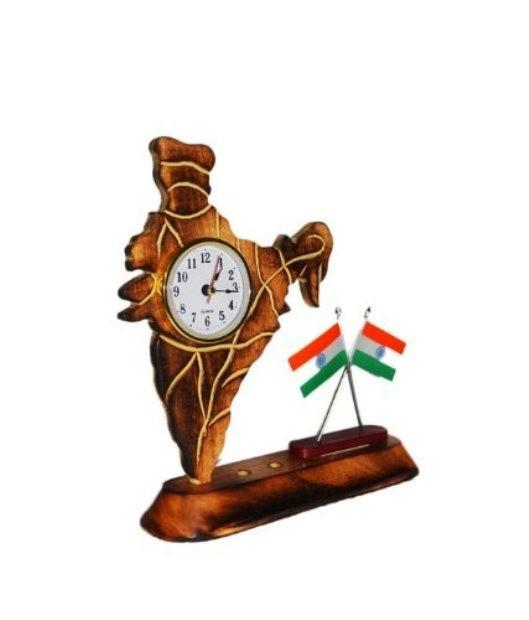 Desi Karigar indian watch india car home decor gift wooden table christmas desk office wood