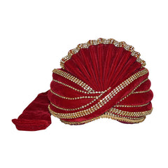 Men Turban For Wedding Royal Maharaja Velvet  Pagadi
