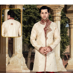 Mens Appealing Jacquard Mens Indo Western
