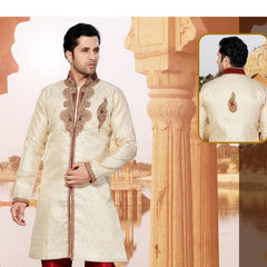Attractive Jacquard Mens Indo Western