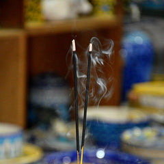 Sky Blue Wing Incense Holder