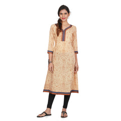 Awesome Women's Beige Kurta
