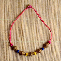 Dhokra Necklace Rouge