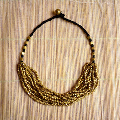 Dhokra Necklace Mingle