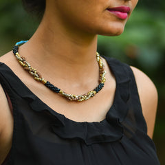 Dhokra Necklace Enthral