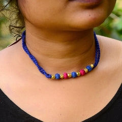 Double Layer Dhokra Necklace