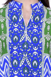 Laabha Women Multicolourd Staright Kurti With Contrast Back Print