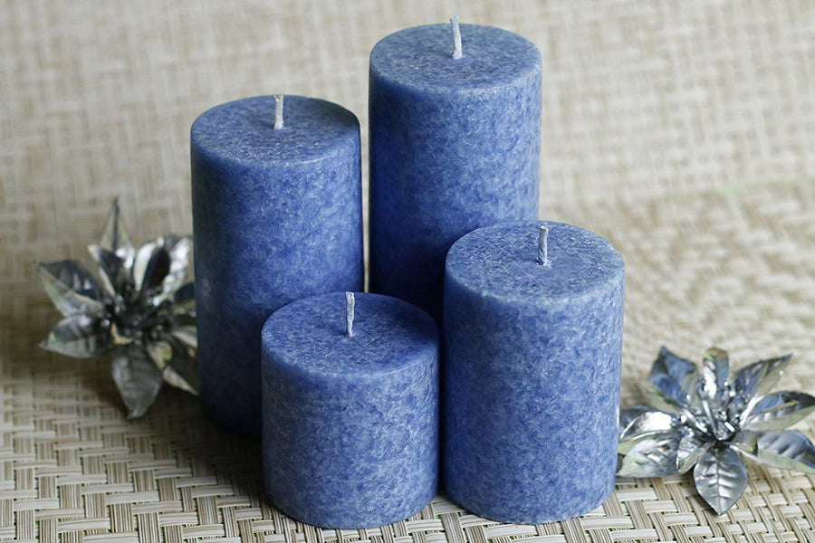 Sea Breeze Scented Candles - Set of 4 Valentine Gifts