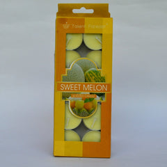 Scented Sweet Melon Tealight Candles - 10