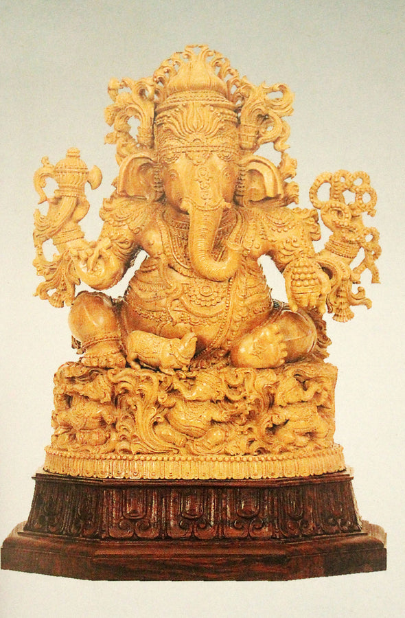 Carved ganesha