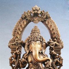 Ganesha figure with arch