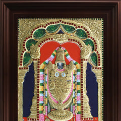 MyAngadi Thirupathi Venkatachalapathi Tanjore Painting