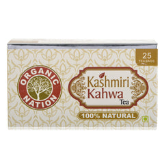 Organic Nation Kashmiri Kahwa Envelope Tea Bags 25